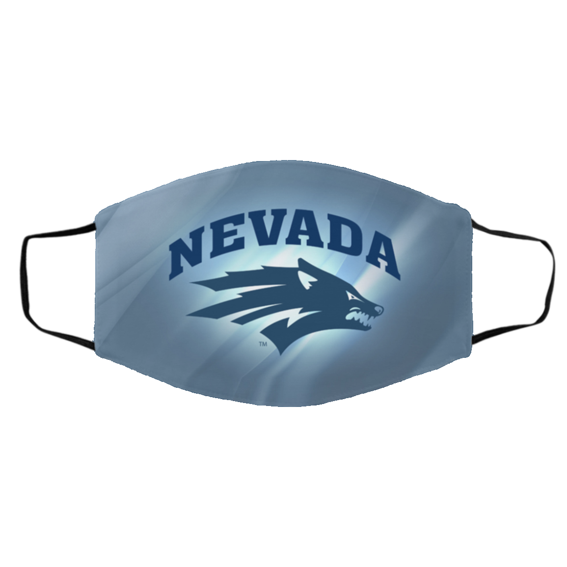 Ne-v-ada W-olf -Pack Face Mask – Logo CLOTH Face Masks