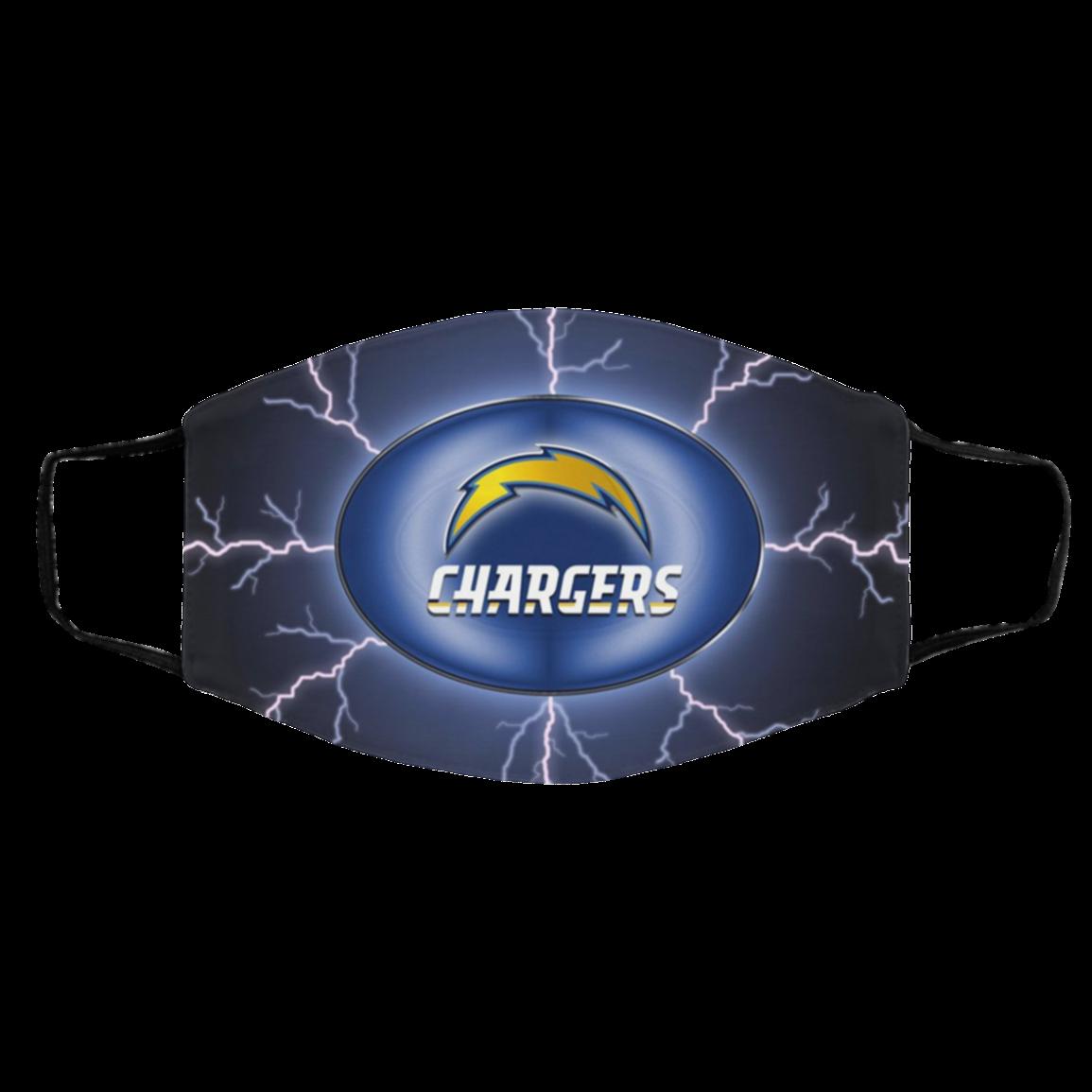 Logo L-os An-ge-les Ch-arger-s L-A Face Mask 2020