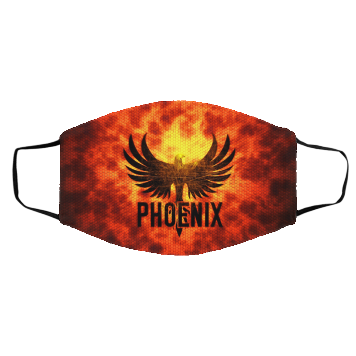 Phoenix Bird Face Mask