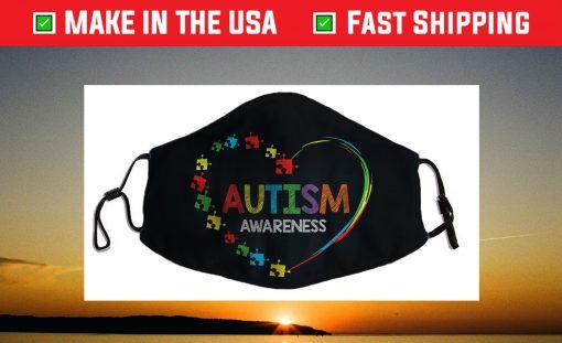 World Autism Awareness 2 April 2021 Shirt Autism Cute Face Mask